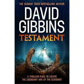Testament de David Gibbins - livre 9781472230171