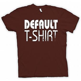 تي شيرت رجالي-قميص تي الافتراضية-مضحك باردة