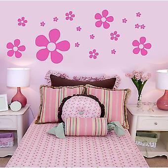 Flower Wall Art Stickers Cupboards