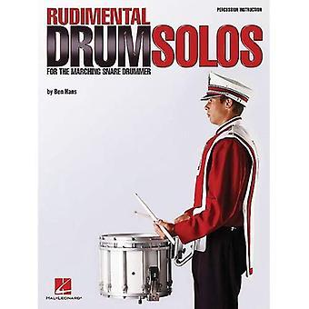 Rudimental Drum Solos for de marcherende Snare-Drummer