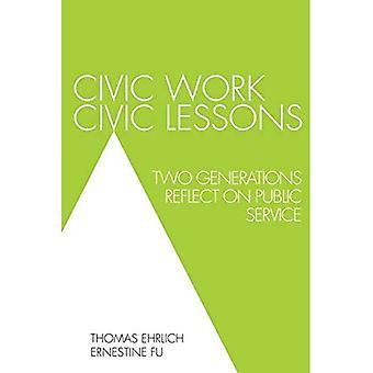 Civic Work, Civic Lessons