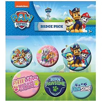 Paw Patrol Button Badge serie PK