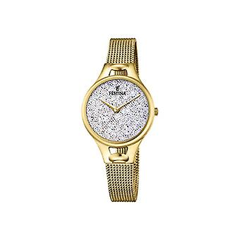 Festina ladies Quartz analogue watch with stainless steel band F20332/1