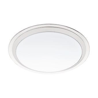 Eglo - Competa-C Conecte controlados sintonizables blanco y RGB decorativos techo iluminación cromo EG96818