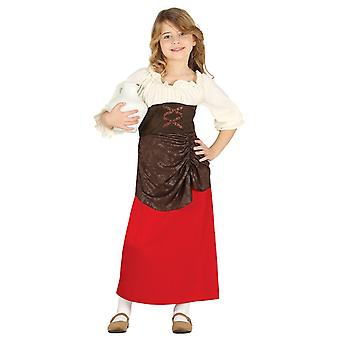 Costume de déguisements filles aubergiste Nativité