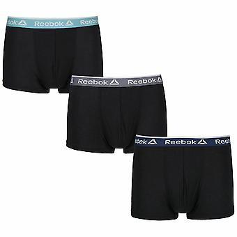 Reebok Men's Performance Sports 3 Pack Boxer Millar