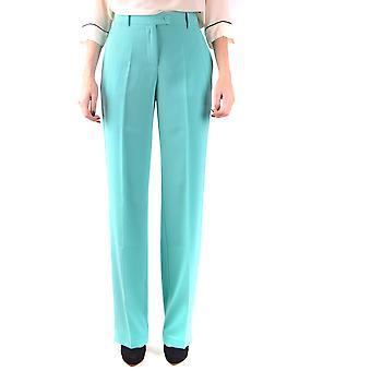 Pinko Green Polyester Pants