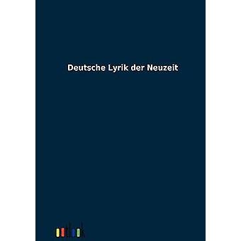 Deutsche Lyrik der Neuzeit by ohne Autor