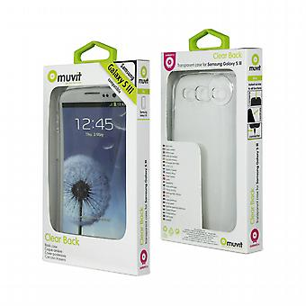 Transparent glass casing + Screen Protector Samsung I9300 Galaxy Neo S3/S3