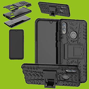 For Xiaomi Redmi note 7 and Pro hybrid case 2 piece SWL outdoor black bag case cover protection