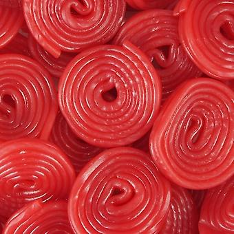 2 Pack of 135g Bags of Cherry Wheels