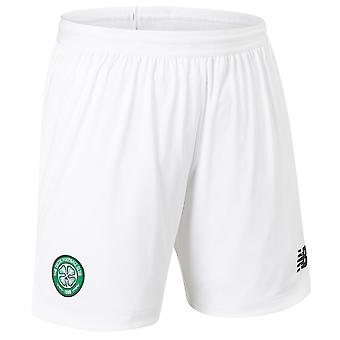 2019-2020 Celtic Home Shorts (White) - Kids