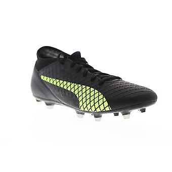 Puma Future 18.4 FG AG 10434402 Mens Black Low Top Athletic Soccer Cleats Shoes