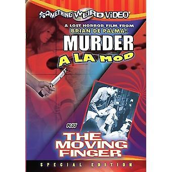Murder a La Mod/Moving Finger [DVD] USA import