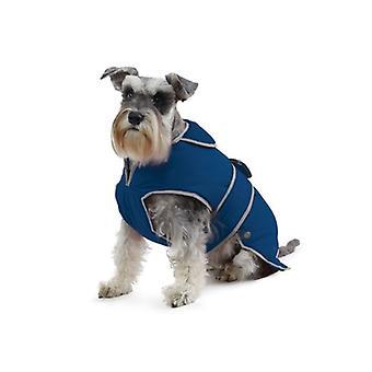 Stormguard Navy Waterproof Dog Coat - Medium