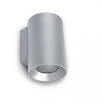 LED buiten medium muur licht grijs Ip55