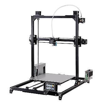 Flsun c plus desktop diy 3d printer with touch screen auto leveling double z-motors