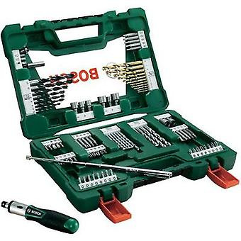 Universal drill bit set TiN 91-piece Bosch Accessories V-Line