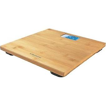 Digital bathroom scales Grundig Körperwaage PS 4110 Weight range=180 kg Bamboo