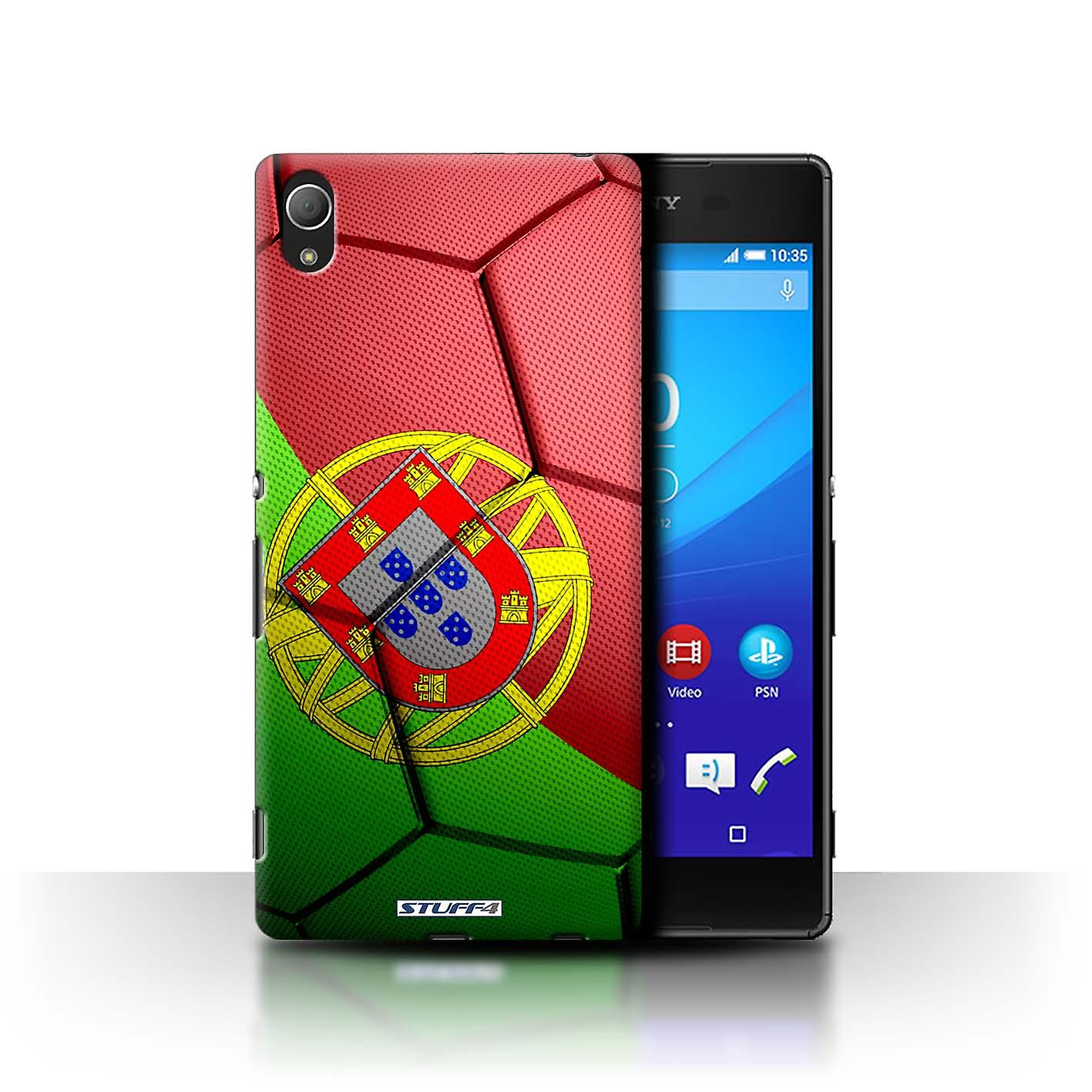 STUFF4 Case/Cover for Sony Xperia Z4/Portugal/Football Nations