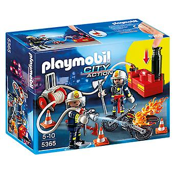 Playmobil 5365 Firefighters with Water Pump