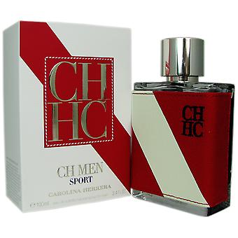 Sport hommes CH de Carolina Herrera 3.4 oz EDT Spray