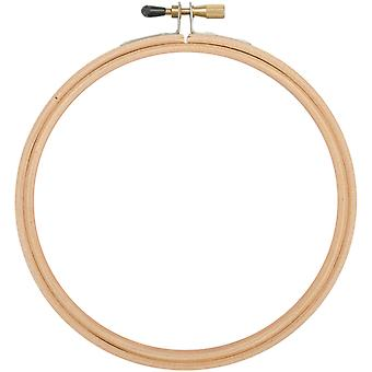 Wood Embroidery Hoop W/Round Edges 4