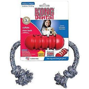 Kong Dental pequeño con cuerda
