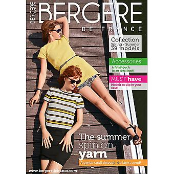 Bergere De France Magazine (Explanations Incl.) 184-Women Spring BF67514