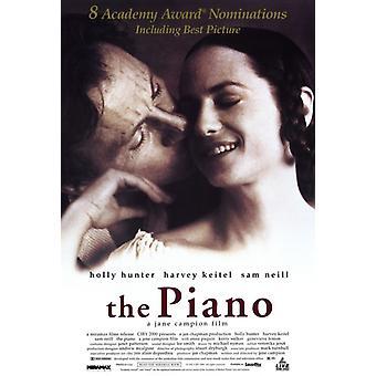 Фортепиано фильм плакат печать (27 x 40)