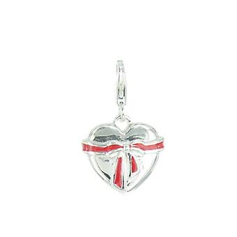 s.Oliver pendant of charms SOCHA/72 - 371230 heart with red loop