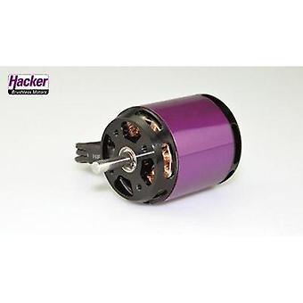 Model aircraft brushless motor Hacker A40-12L V4 14-Pole kV (RPM per volt): 410 Turns: 12