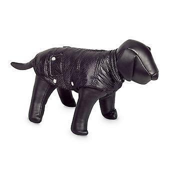 Nobby Danika Dog Coat Black With Silver Dots 29cm