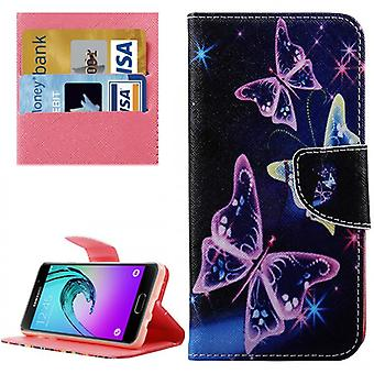 Cover wallet pattern 76 for Samsung Galaxy A5 2016 A510F