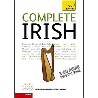 Complete Irish Beginner to Intermediate Course: Learn to read write speak and understand a new language with Teach Yourself (Audio CD) by O Se Diarmuid Sheil Joseph