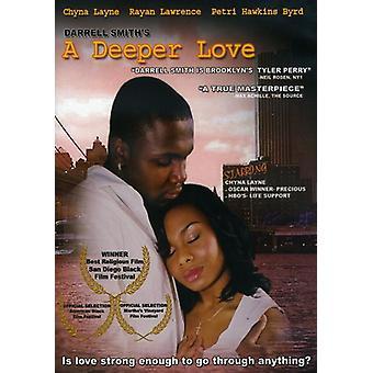 Dybere kærlighed [DVD] USA importerer