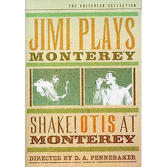 Importación de Jimi juega Monterey y agitar [DVD] los E.e.u.u.