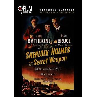 Sherlock Holmes & the Secret Weapon [DVD] USA import