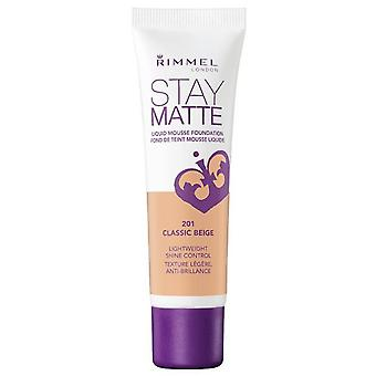 Rimmel London Stay Matte Liquid Mousse Foundation (Beauty , Make-up , Face , Bases)