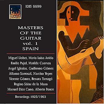 Albeniz / Llobet / Anido / Pujol / Cuervas / Igles - mestre af Guitar - Spanien 1 [CD] USA import