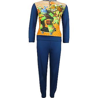 Jongens Nickelodeon Ninja Turtles lange mouw Pyjama Set verpakt in de doos