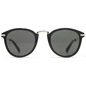 American Freshman Plastic & Metal Preppy Sunglasses In Black