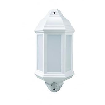 LED Robus Kerry 7W LED Half Coach Light With Motion Detector