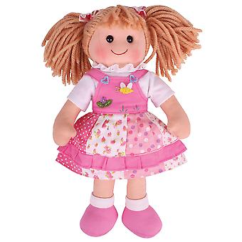 Bigjigs Toys Hayley Puppe 34cm (13