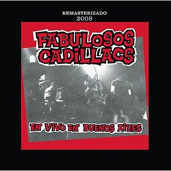 Los Fabulosos Cadillacs - En Vivo da Buenos Aires [CD] USA importerer