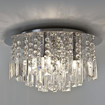 Astro Evros Crystal Ceiling Light