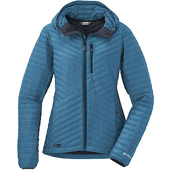 Outdoor Research Womens Verismo Hooded Down Jacket Oasis (UK Size 14)