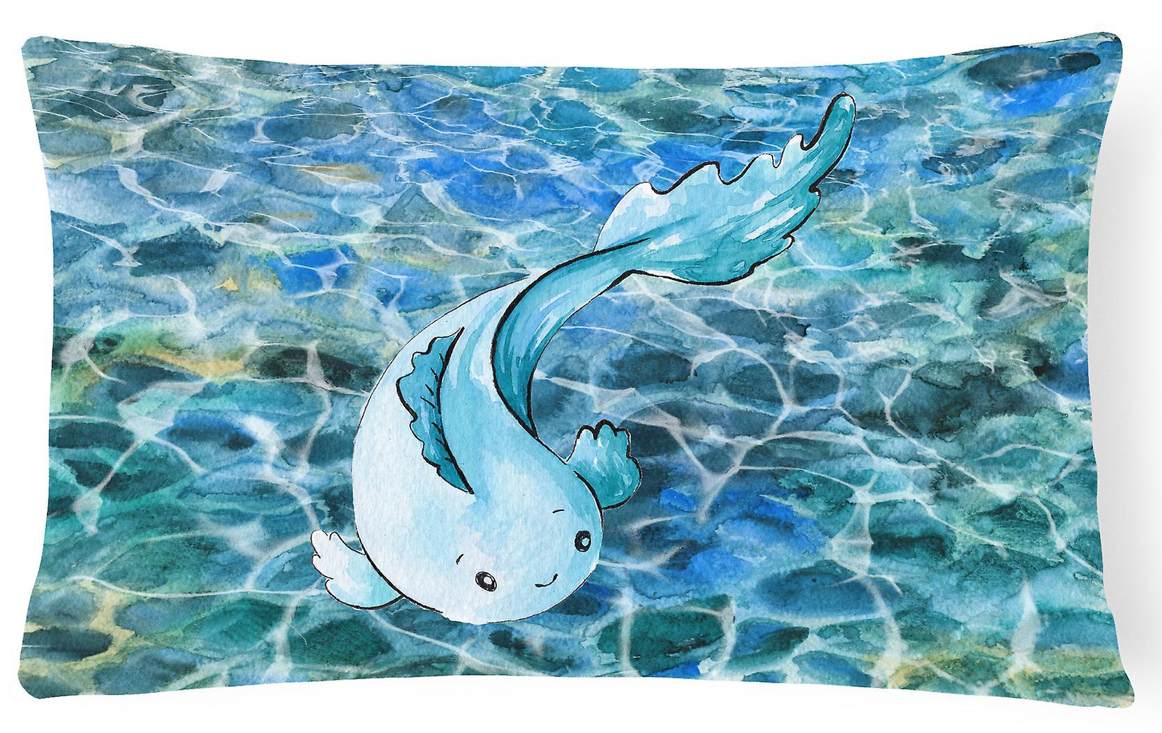 Canvas Pillow Carolines Fabric Decorative Bb8524pw1216 Blue Fish Treasures CoxerdB