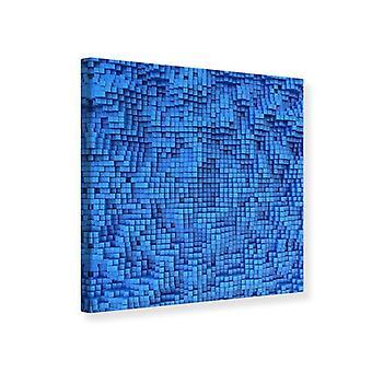 Lærred Print 3D mosaik