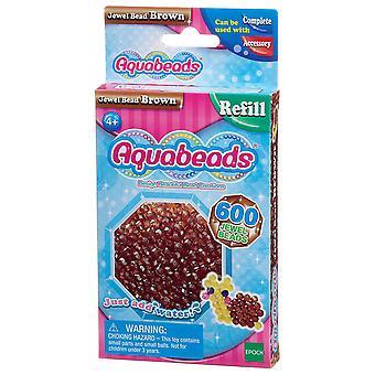 Aquabeads juvel perle Pack - brun